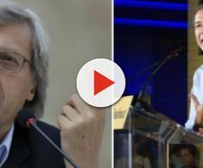 Sgarbi furioso lascia l'assessorato in Sicilia: 'Musumeci mi deve la vittoria'