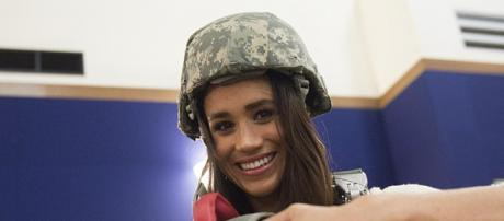 Meghan Markle in Vicenza, Italy. - [Image credit - D. Myles Cullen, Wikimedia Commons]
