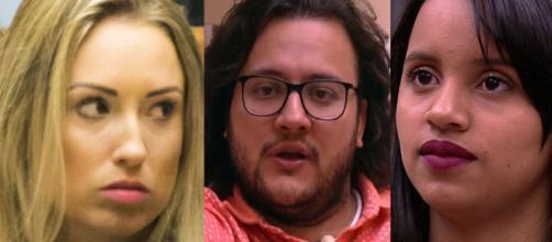BBB18: Quem deve sair: Diego, Gleici ou Jéssica?