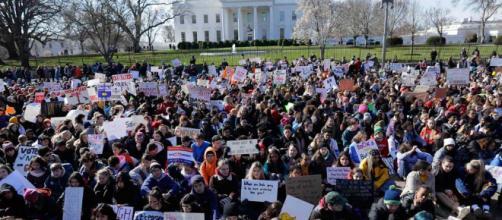 Fotos de la huelga escolar contra las armas en EEUU - cambio16.com