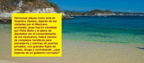 Fueron vendidas por Peña Nieto la mayor parte de costas, islas, marinas de puerto y playas de la nación mexicana