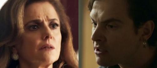 Gael descobre que Sophia matou Mariano e a denuncia para a polícia (Foto: TV Globo)