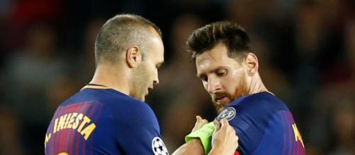 Lionel Messi contract: Andres Iniesta urges Barcelona to tie down ... - thesun.co.uk