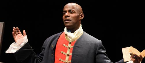 Paterson Joseph in 'Sancho: An Act of Remembrance.' / Image via Paterson Joseph, used with permission.