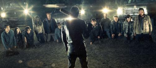 Poster da sétima temporada de The Walking Dead