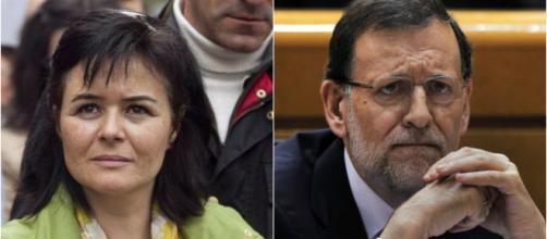 Ruth Ortiz yM. Rajoy en imagen