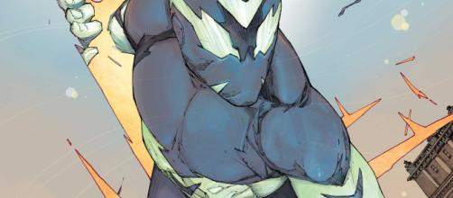 Sideways # 1 presenta una variación de la historia tradicional del origen del superhéroe que se siente bastante única