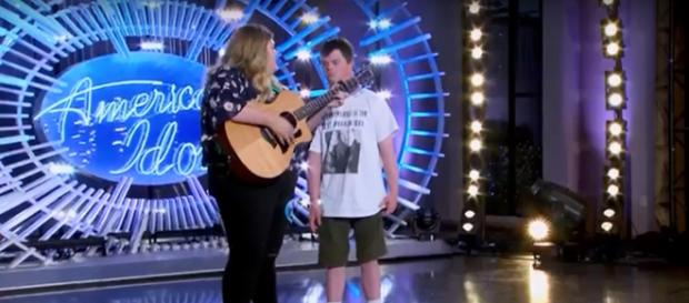 'American Idol' ended on a high as Maddie Zahn and best friend Marcus closed night 3 of auditions. Screenshot American Idol/YouTube