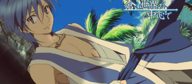 Aoi Sekai no Chuushin de el anime
