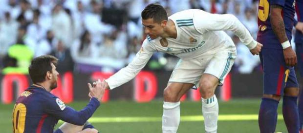 Leo Messi e seu maior rival, Cristiano Ronaldo