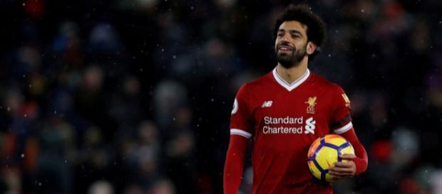 El jugador Mohamed Salah tras los pasos de Messi