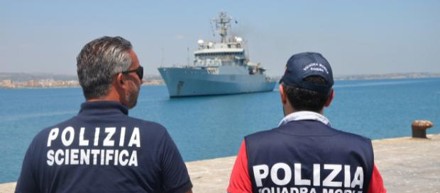 Sequestro di una nave a Pozzallo