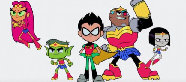 'Teen Titans Go To The Movies.' - [Image Via Warner Bros. Pictures / YouTube Screencap]