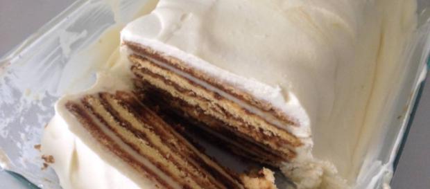 Torta helada de galletas - recetas caseras - Cookpad - cookpad.com