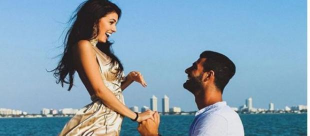 Uomini e Donne, Clarissa e Federico si sposano: la proposta romantica commuove