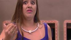 'BBB 18': Patrícia desfila sensualmente e atrai diversos olhares da casa