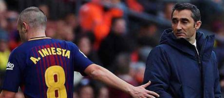 Andres Iniesta continua sendo um dos mais importantes jogadores do Barça