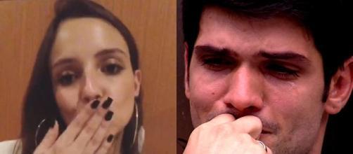 Ana Lúcia fala uma frase polêmica e internautas entendem que relacionamento com ex-bbb Lucas acabou. (foto reprodução).