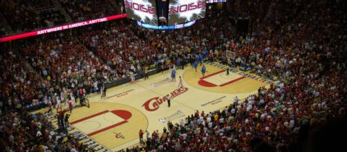 Cleveland Cavaliers player has been suspended [Image by Chris Metcalf / Wikimedia Commons]