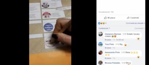 L'elettore del movimento 5 stelle che filma il suo voto
