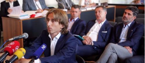 Luka Modric acusado de falso testimonio en el juicio del ex ejecutivo del Dínamo de Zagreb