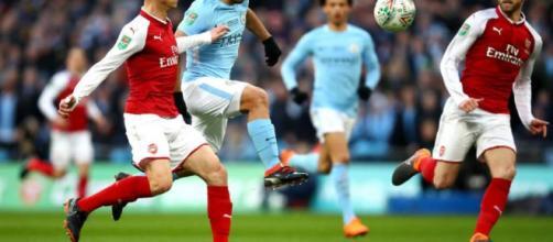 Manchester City golea 3-0 al Arsenal y es el campeón de la Copa de ... - peru.com