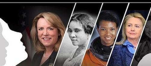 March is Women's History Month. - [Image: Department of Defense / YouTube screenshot]