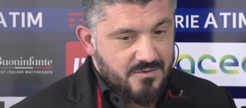 Ringhio Gattuso, intervista post Lazio