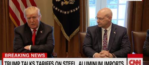 Trump and new tariffs - Image The White house ua CNN   YouTube