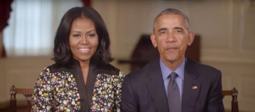 """Tweet de Barack Obama: """"Michelle y yo estamos tan inspirados por todos los jóvenes"""" que marchan por la vida."""