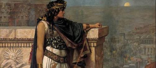 Zenobia, su representación iconográfica más conocida. Fuente: Historias de la Historia - historiasdelahistoria.com
