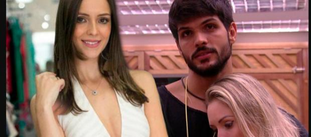 Ana Lúcia, a noiva de Lucas do BBB, já teria tido encontro com ele após eliminação