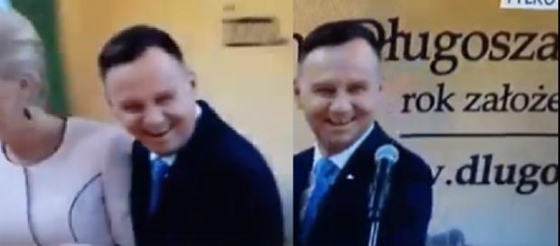 Andrzej Duda zażartował z upodobań Brigitte Macron (twitter.com).