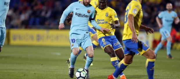 Barcelona pierde puntos contra Las Palmas