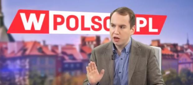 Gościem telewizji wPolsce.pl był Adam Andruszkiewicz.
