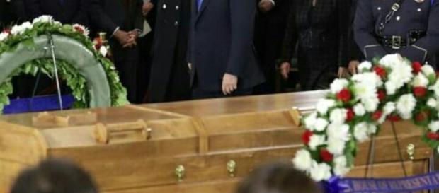 President Donald Trump pays tribute to Rev Billy Graham. (Image Credit: Gatrielle Solomon / YouTube Screenshot)