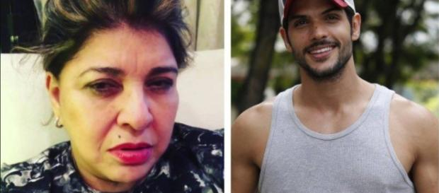 Roberta Miranda rebate Lucas e humilha