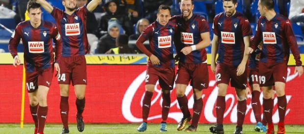 SD Eibar pasó de ser el típico equipo a fondo de tabla, a pasar a pelear puestos europeos