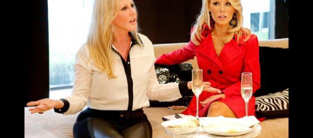 Vicki Gunvalson y Kelly Dodd entran en discusión por celos - usmagazine.com