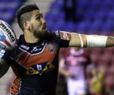Jesse Sene-Lefao has quickly become one of the most popular players to ever wear the Castleford shirt. Image Source - thesportsman.com