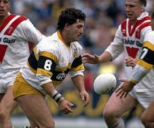 Kevin Ward in action for Castleford against the club he would later join - St Helens. Image Source - gettyimages.ca