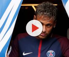 La estrella del Paris SG: Neymar