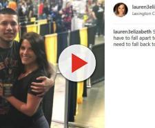 Javi Marroquin attends Comic and Toy Con with Lauren Comeau. [Photo via Lauren/Instagram]