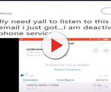 Misteriosa mensagem de voz, enviada a celulares, repercute na internet e na imprensa (Ty/Twitter)