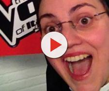 """Suor Cristina Scuccia, la giovane suora che vinse la seconda edizione di """"The Voice""""."""