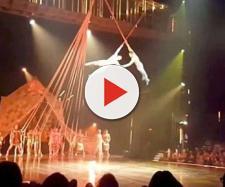 Yann Arnaud morreu durante apresentação do Cirque du Soleil. Vídeo mostra acidente.