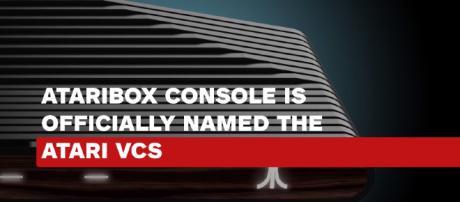 Ataribox is officially renamed, Atari VCS. [image source: IGN News YouTube screenshot]