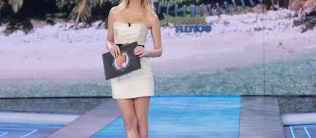 L'Isola dei famosi, Alessia Marcuzzi, la conduttrice del reality