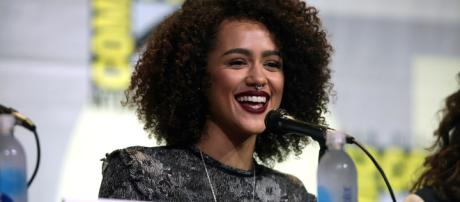 "Nathalie Emmanuel answers questions about the script for season 8 of ""Game of Thrones."" - Gage Skidmore via Wikimedia Commons"