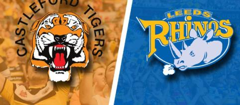 Castleford will be hoping to erase the memory of Leeds' Grand Final victory when they meet on Friday. Image Source - therhinos.co.uk
